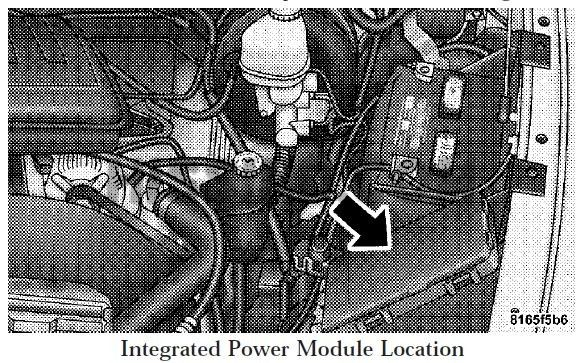 08 2008 Dodge Ram Fuse Box Diagram Under Hood  Integrated Power Module