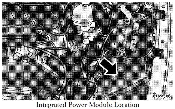 08 2008 Dodge Ram Fuse Box Diagram Under Hood (INTEGRATED ...