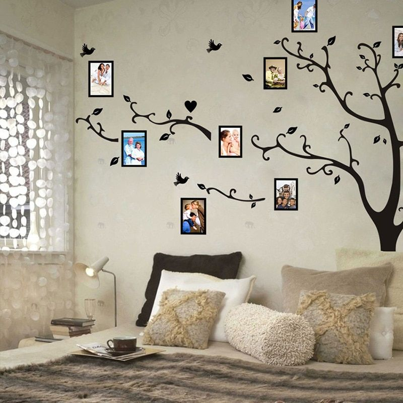Large Wall Sticker Of A Tree For Bedroom In 2020 Large Wall
