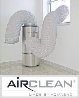 nahezu staubfrei renovieren mit unserem Airclean