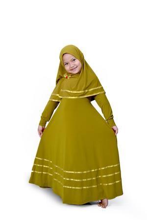 Baju Jubah Anak Perempuan