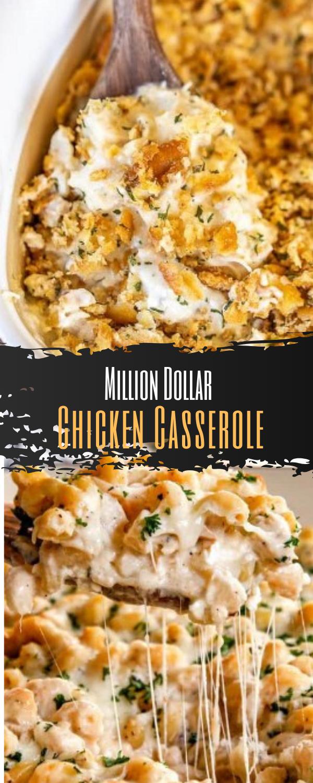 The Million Dollar Chicken Casserole Recipe Atllasik Recipe In 2020 Cooked Chicken Recipes Chicken Recipes Casserole Chicken Thigh Casserole