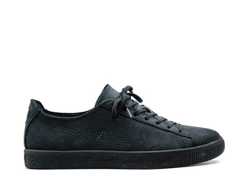 big sale 03951 7e752 Puma X STAMPD Clyde black premium leather | Bijsmaak Sneaker ...