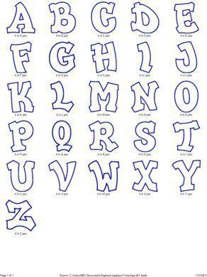 Dibujo De Letras COMOSEA Letras Grandes Letras Y