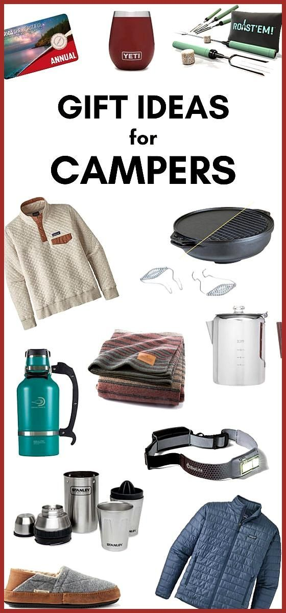 39 Gift Ideas for Campers Not sure what to get your outdoor loving friends or family members This g