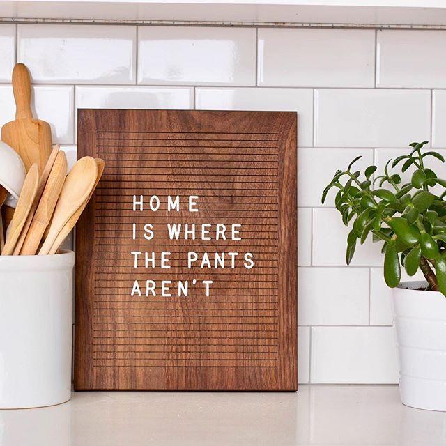 Madera Modern   Modern Wooden Letter Boards