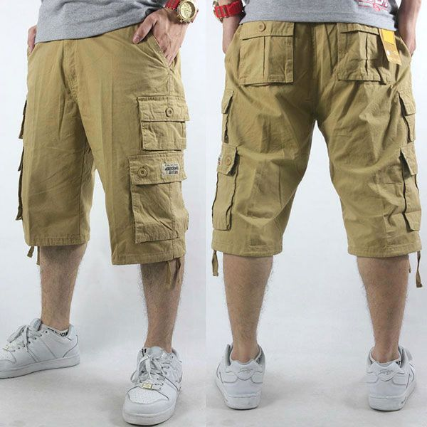 cargo shorts men style