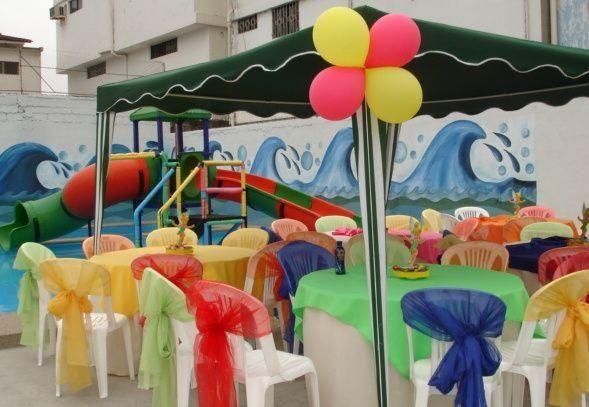 Ideas fiesta de cumpleanos nina en piscina buscar con for Ideas para cumpleanos en piscina