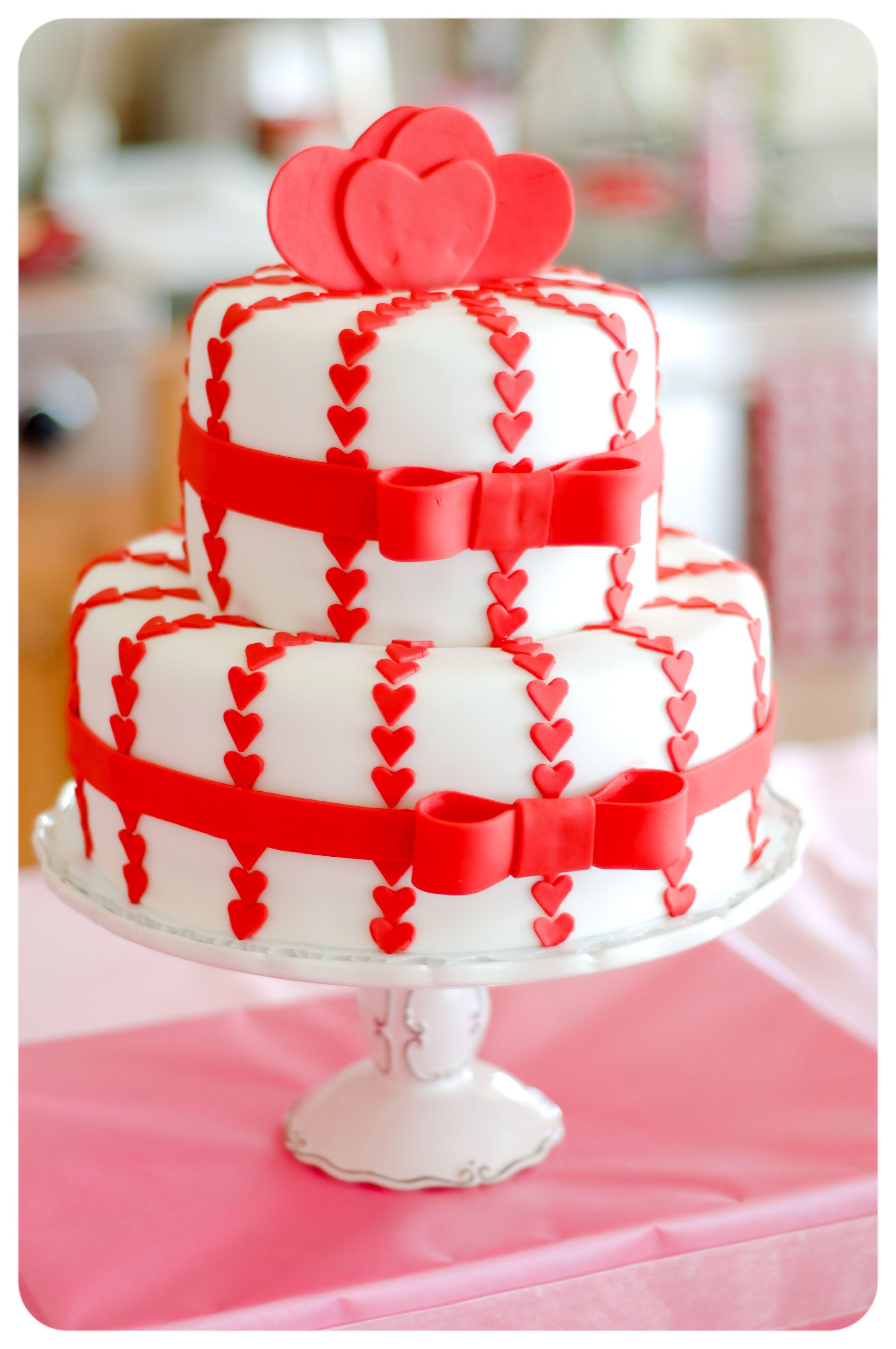 Valentines day cake decorating ideas