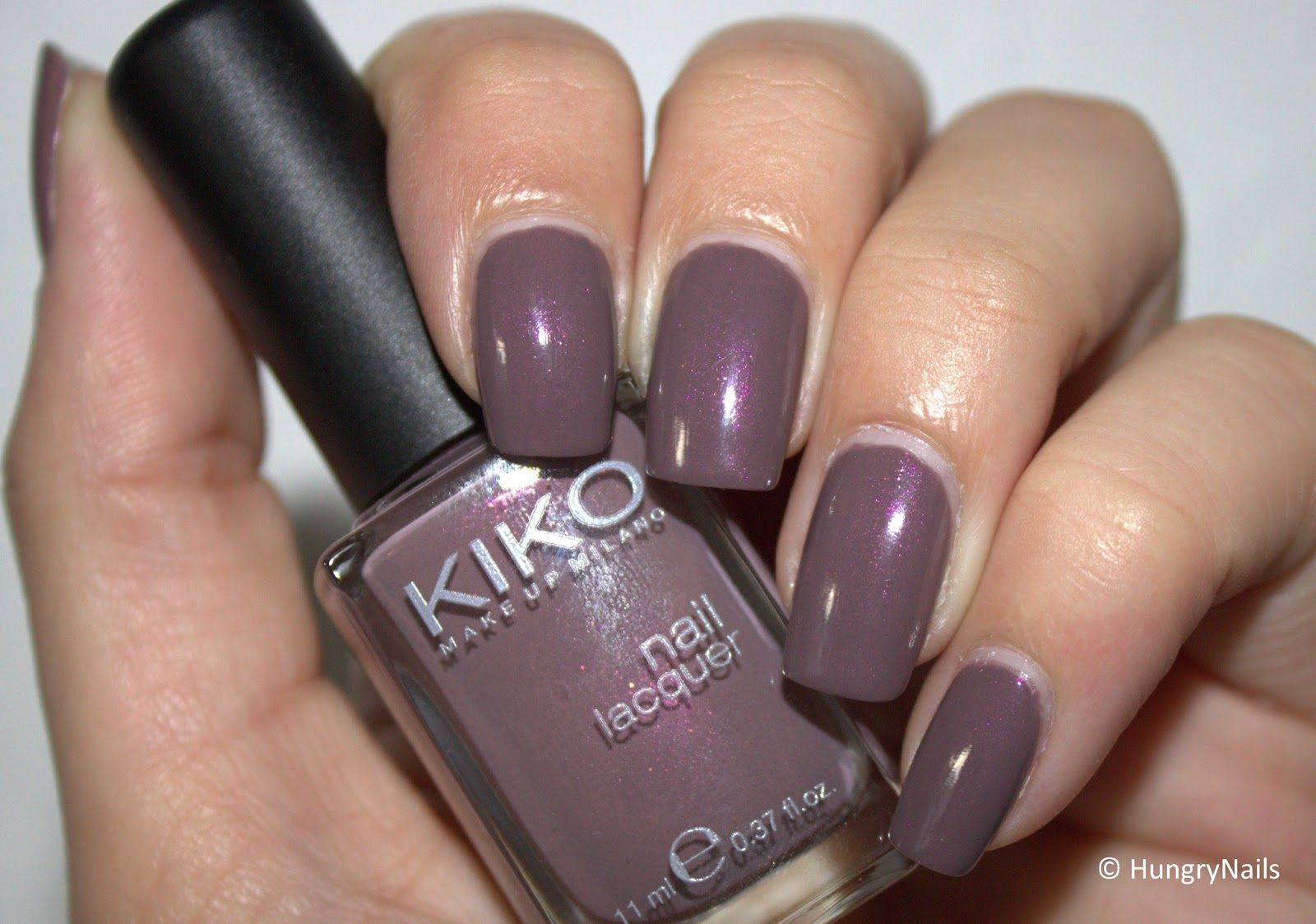 HungryNails: Business Nägel | Kiko 512 Metallic Rosy Taupe | Nails ...
