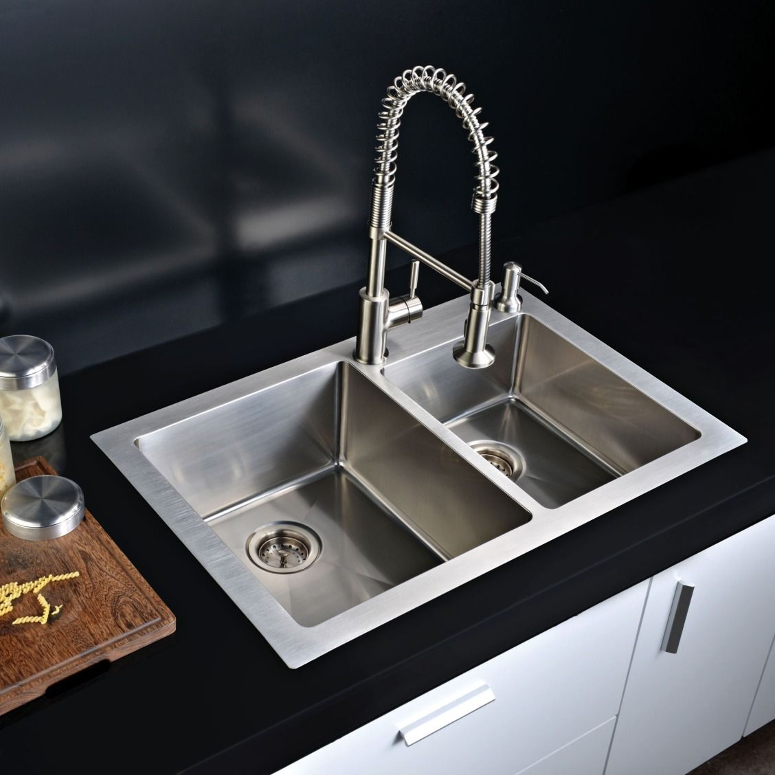 Combining Form And Function, This Dual Mount Kitchen Sink Is A True Beauty.