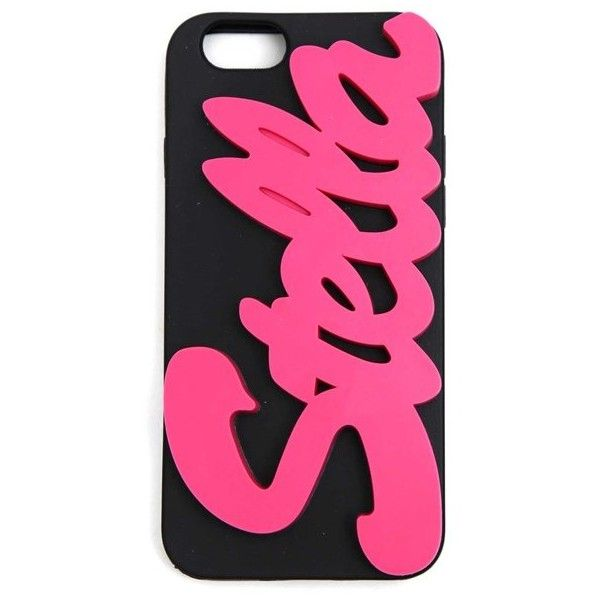 Stella Mccartney Iphone Case With Lettering ($39) ❤ liked on Polyvore featuring accessories, tech accessories, black, iphone sleeve case, stella mccartney, stella mccartney iphone case and iphone cover case