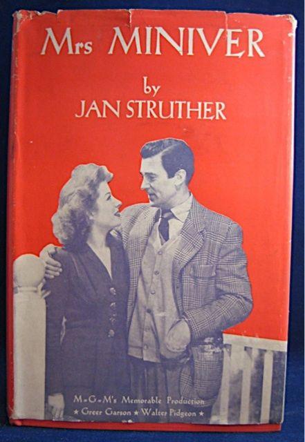 2 Mrs Miniver By Jan Struther Mrs Miniver Favorite Books Books