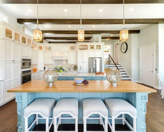 beach house kitchens coastal kitchen