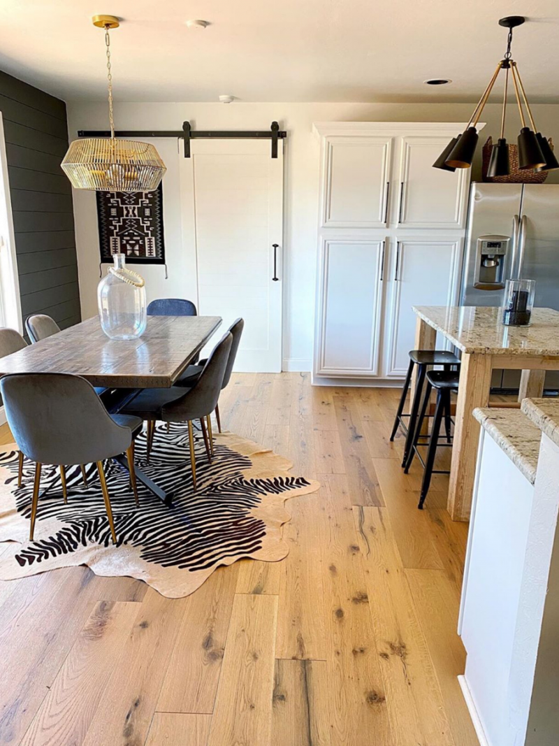 """The saying """"the kitchen is the heart of the home' is especially true for my family. Ours is constantly in use and we love spending time there. Although there is no shortage of photos on… The post Sandi's Kitchen Before & After appeared first on The Spoiled Home."""