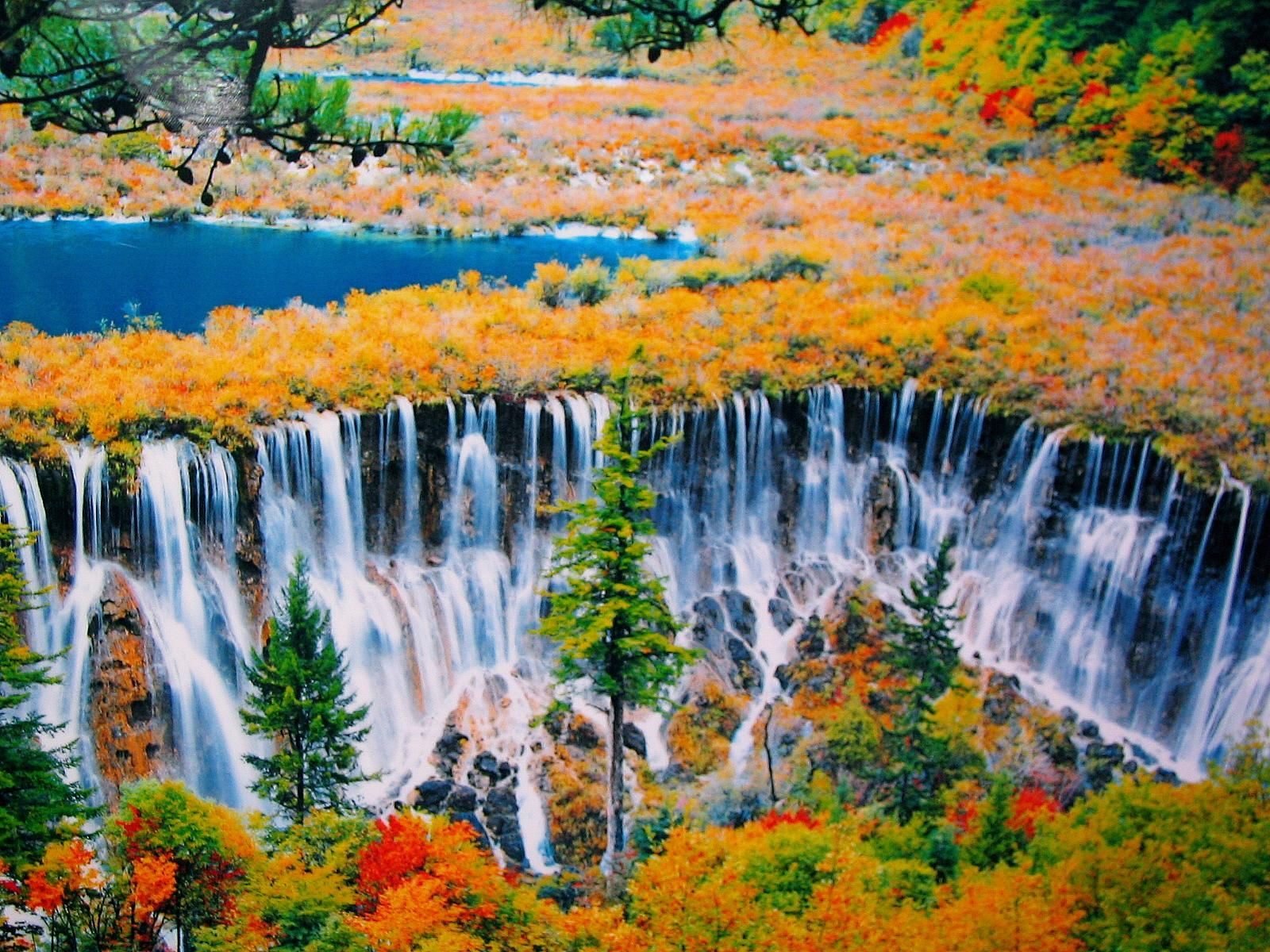 Nuorilang Waterfall @ Jiuzhaigou National Park, China