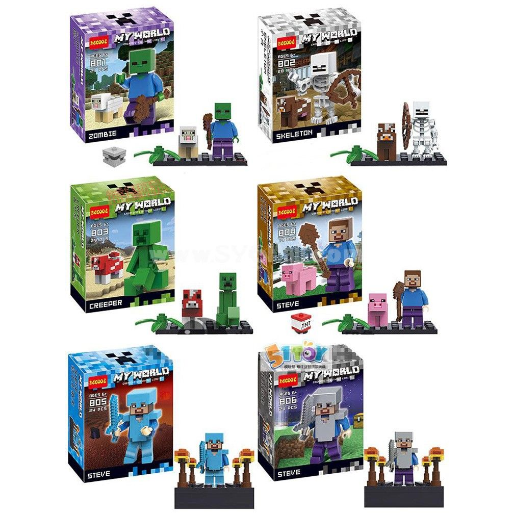 how to build lego minecraft world