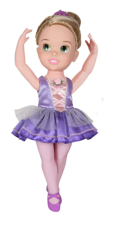 my first disney princess ballerina princess rapunzel toddler doll toys games. Black Bedroom Furniture Sets. Home Design Ideas