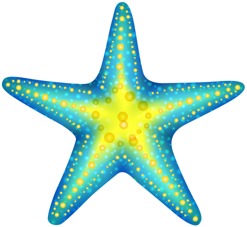 Blue Starfish Png Clip Art Starfish Art Clip Art Starfish Clipart