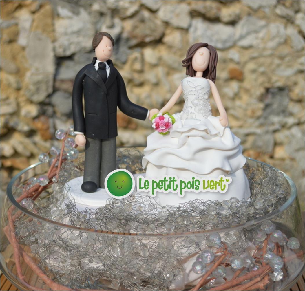 La figurine de mariage est un objet fait pour tre pos sur le g teau de mariage figurine - Pose photo mariage ...