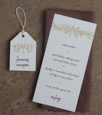 Free printable rustic wedding stationery Free menu templates, Menu - invitation template nature