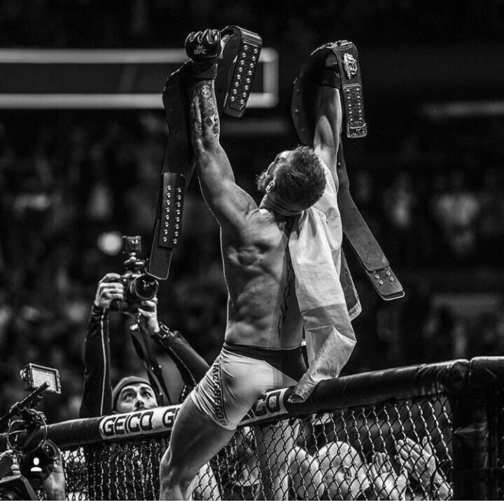 Ufc Featherweight And Lightweight Champion And Mma Superstar Conor Mcgregor Will Now Be Part Of Ufc History For As Long As The Conor Mcgregor Ufc Fighters Ufc