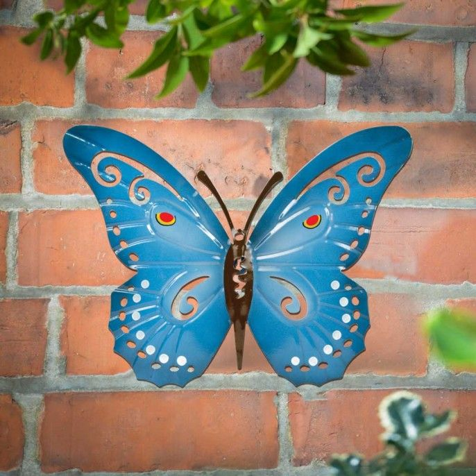 GARDEN WALL BUTTERFLY   Garden Decor   Garden U0026 Outdoor | Poundstretcher