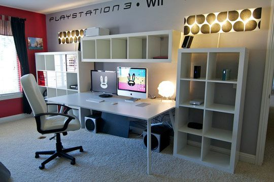 Making the All IKEA Office Look Less Plain Vanilla Dream