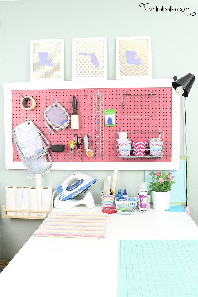 Outstanding Diy Craft Table And Pegboard Pinterest Easy Diy Crafts Download Free Architecture Designs Embacsunscenecom
