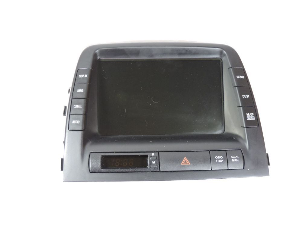 toyota prius multifunction display