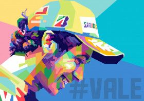 Valentino Rossi | Displate thumbnail
