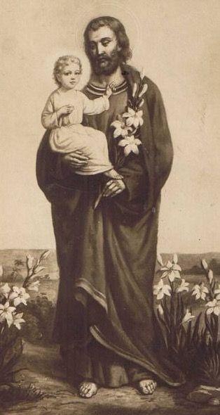 SAN JOSÉ, ejemplo de esposo y padre