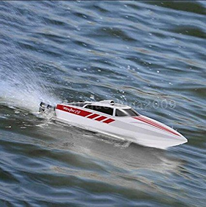 Funtech 20mph 2 4ghz High Speed Electric Fast Rc Boat Remote