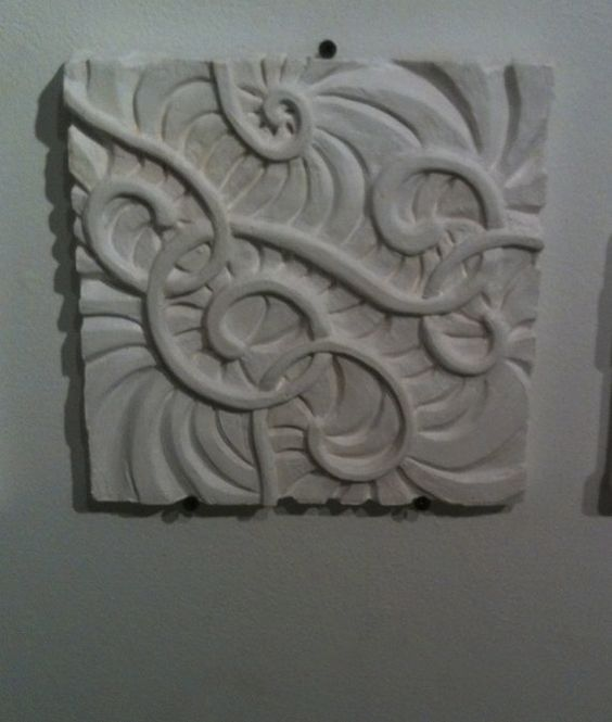 Abstract carving on balsa foam pinterest
