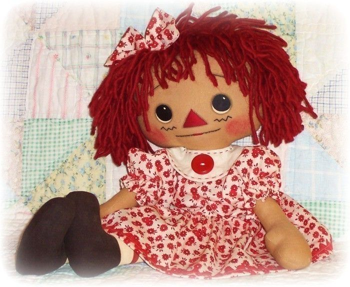 Doll Pattern, Annie has a NEW DRESS includes DOLL and clothes, pdf ...