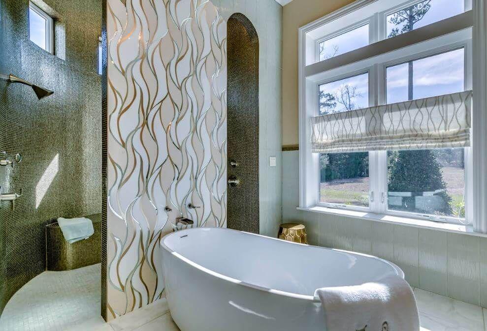 Bathtub Backsplash Ideas | Bathroom Designs | Pinterest ...