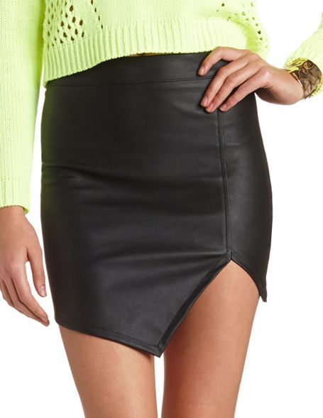 Leather skirts, Skirts and Leather jackets on Pinterest
