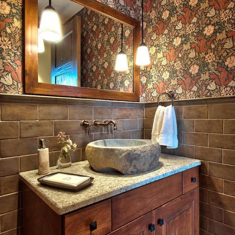 Powder Room Design Ideas, Pictures, Remodels and Decor Future home