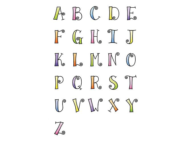 Springy Alphabet Featured In Fun To Fancy Hand Lettering Workshop With Nancy Burke Watch A Free Preview Here