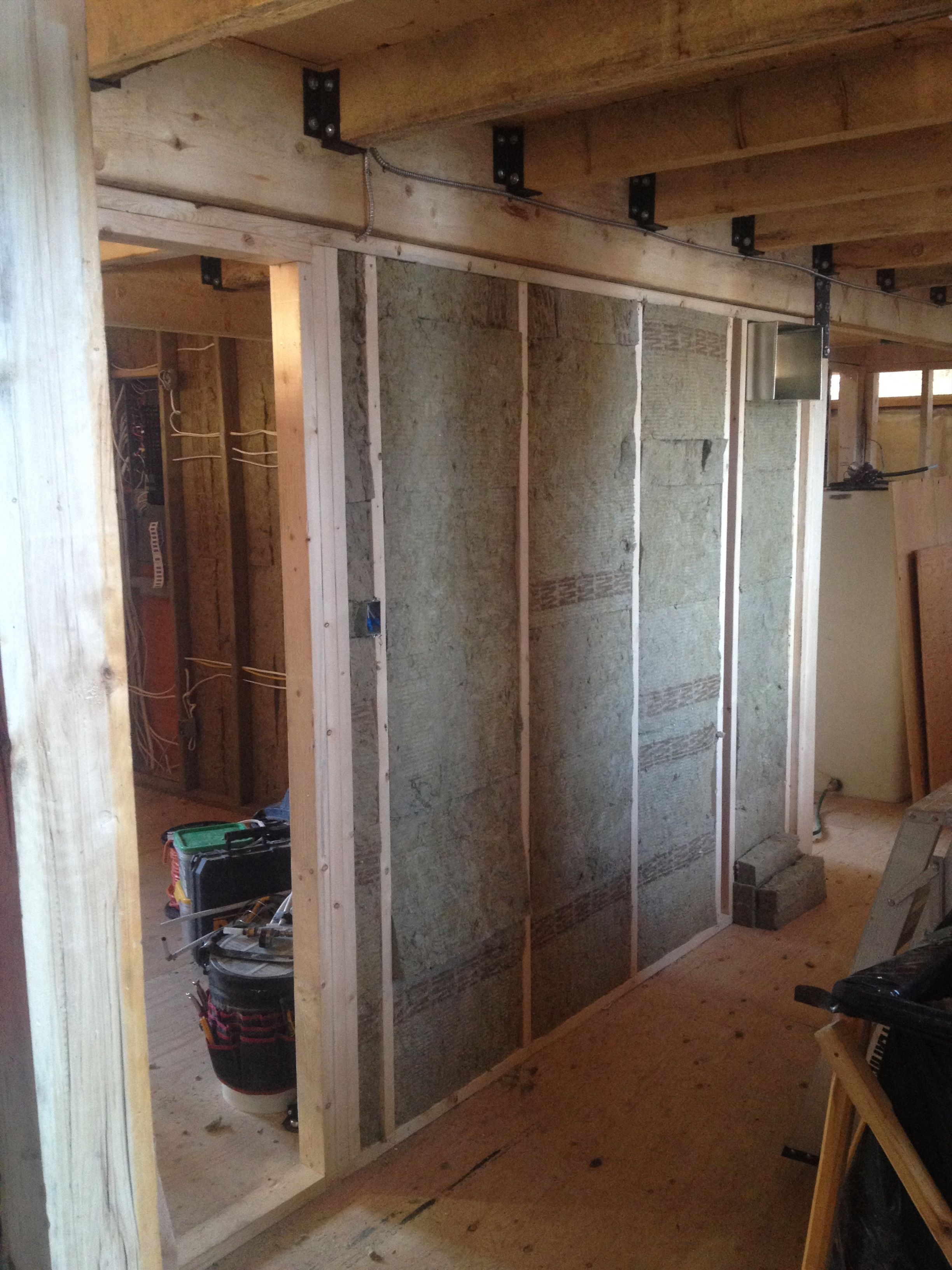 Interior Walls Insulated With Fire Rated Insulation Around Master Bedroom,  Bathroom And Furnace Room For