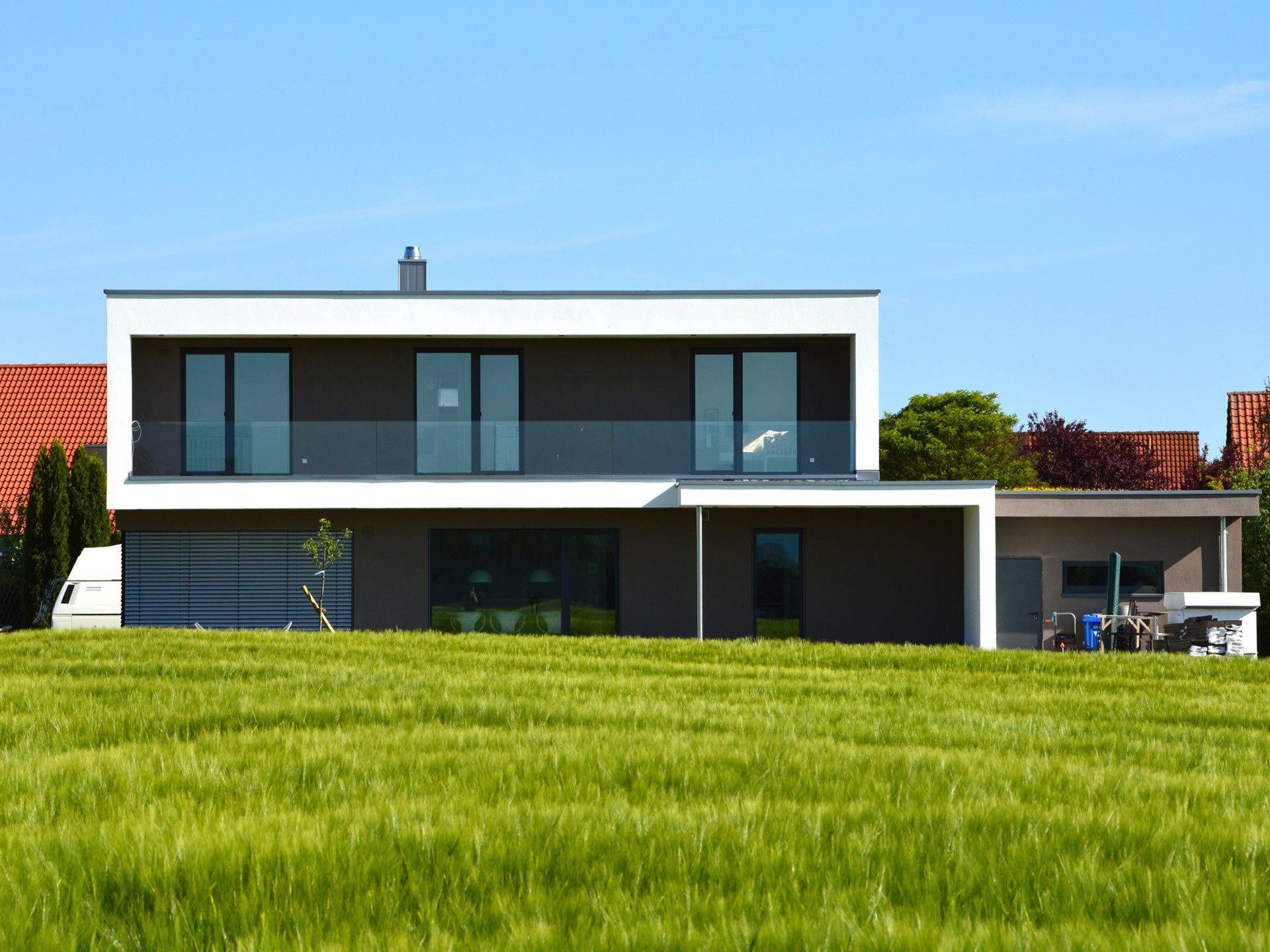 Musterhaus Holzbau Kielwein Kubus Haus Haus Holzbau