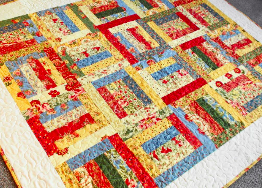 Strip Box Quilt Pattern | Strip quilts and Jelly roll quilt patterns : strip quilts - Adamdwight.com