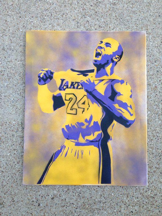 Kobe Bryant Painting Artwork Paint By Numbers Kit DIY Adult Kid