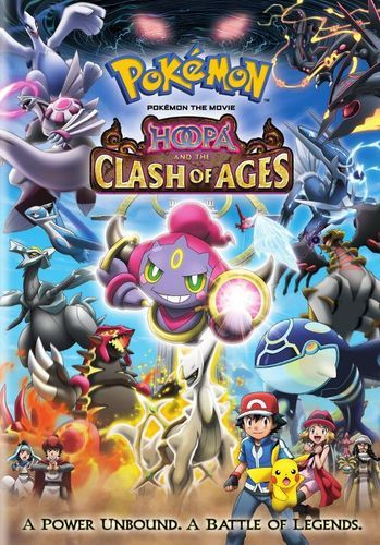 Pokemon The Movie Hoopa And The Clash Of Ages Dvd 1998