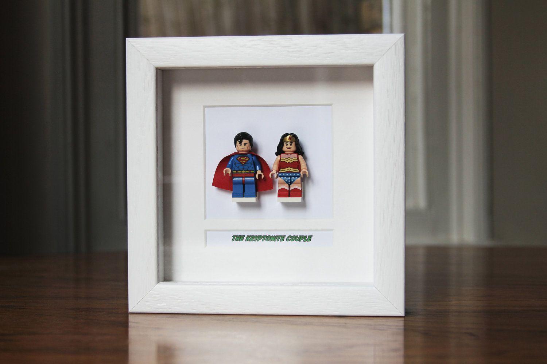 Discounts on all frames *** Superheroes Framed Mini Figures Superman ...