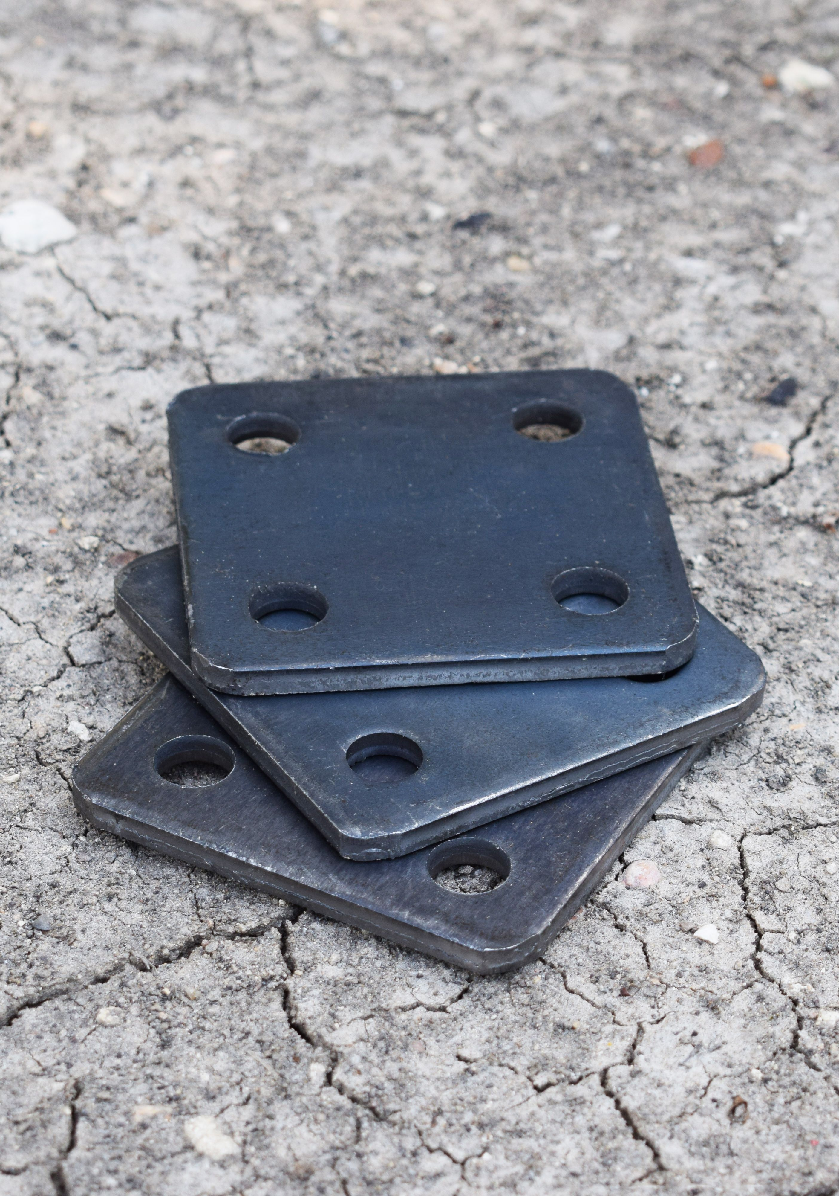 Small But Mighty 3 Inch Square Steel Base Plates Item Number 44 33 K In 2020 Plates Steel Metal Working
