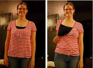 4904d215c90 Cheap DIY nursing tops! NO SEWING. After trying out a few different (and a  little too pricey) nursing clothing companies, I finally found some tips  that ...