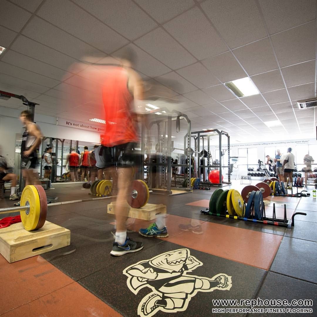 Neoflex High Performance Fitness Flooring At The Training