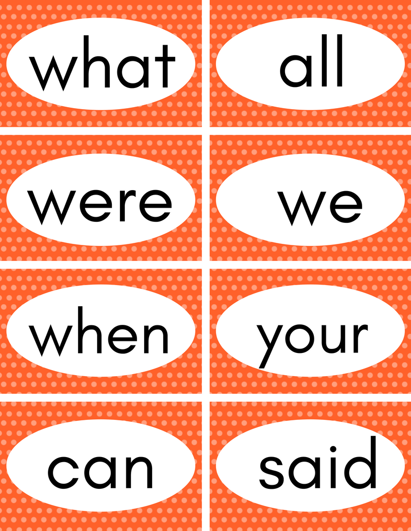 image regarding Free Printable Sight Word Games named Cost-free Printable Sight Phrases Flash Playing cards - Best for