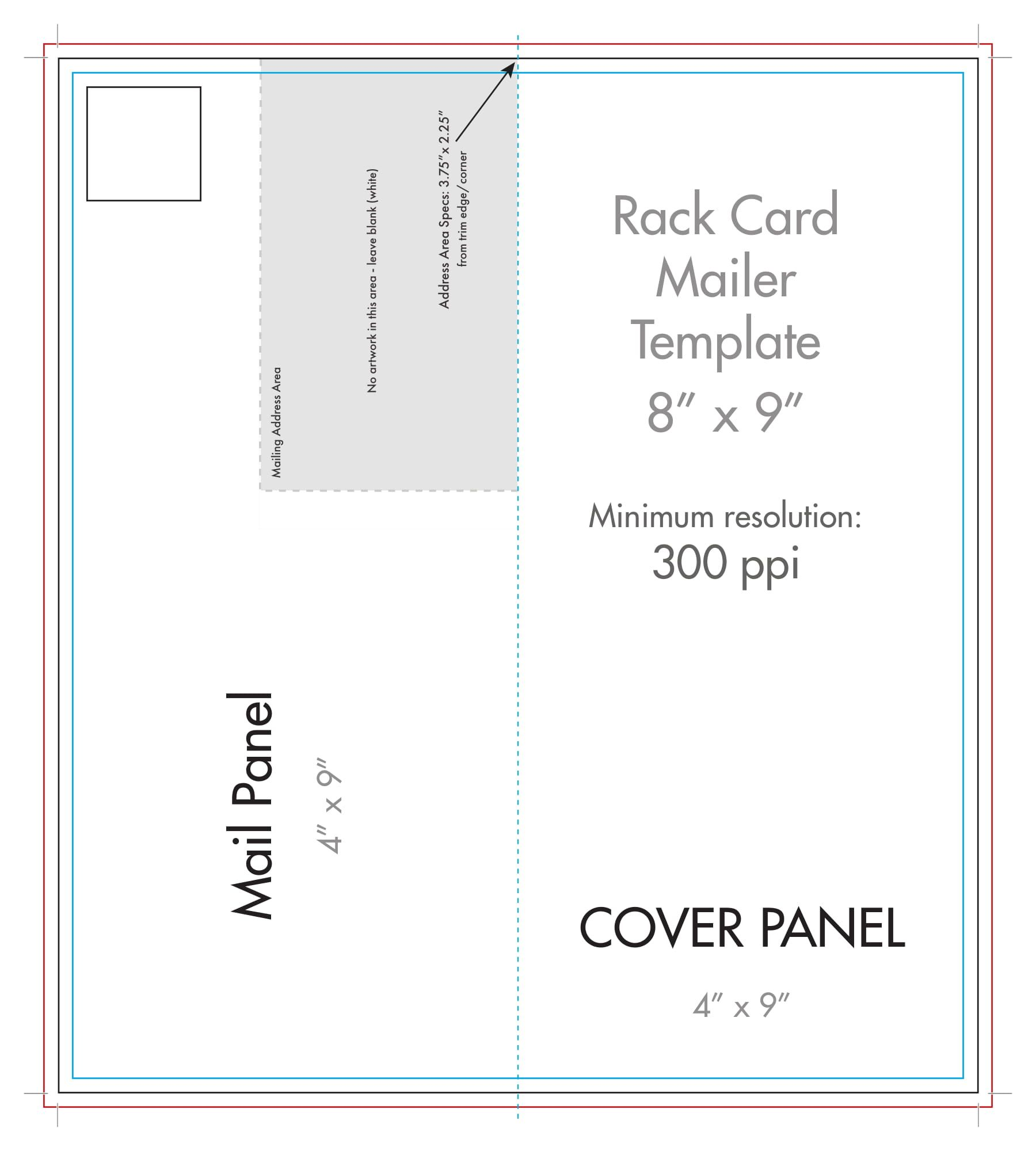 Blank Half Fold Card Template - Mahre.horizonconsulting.co ...